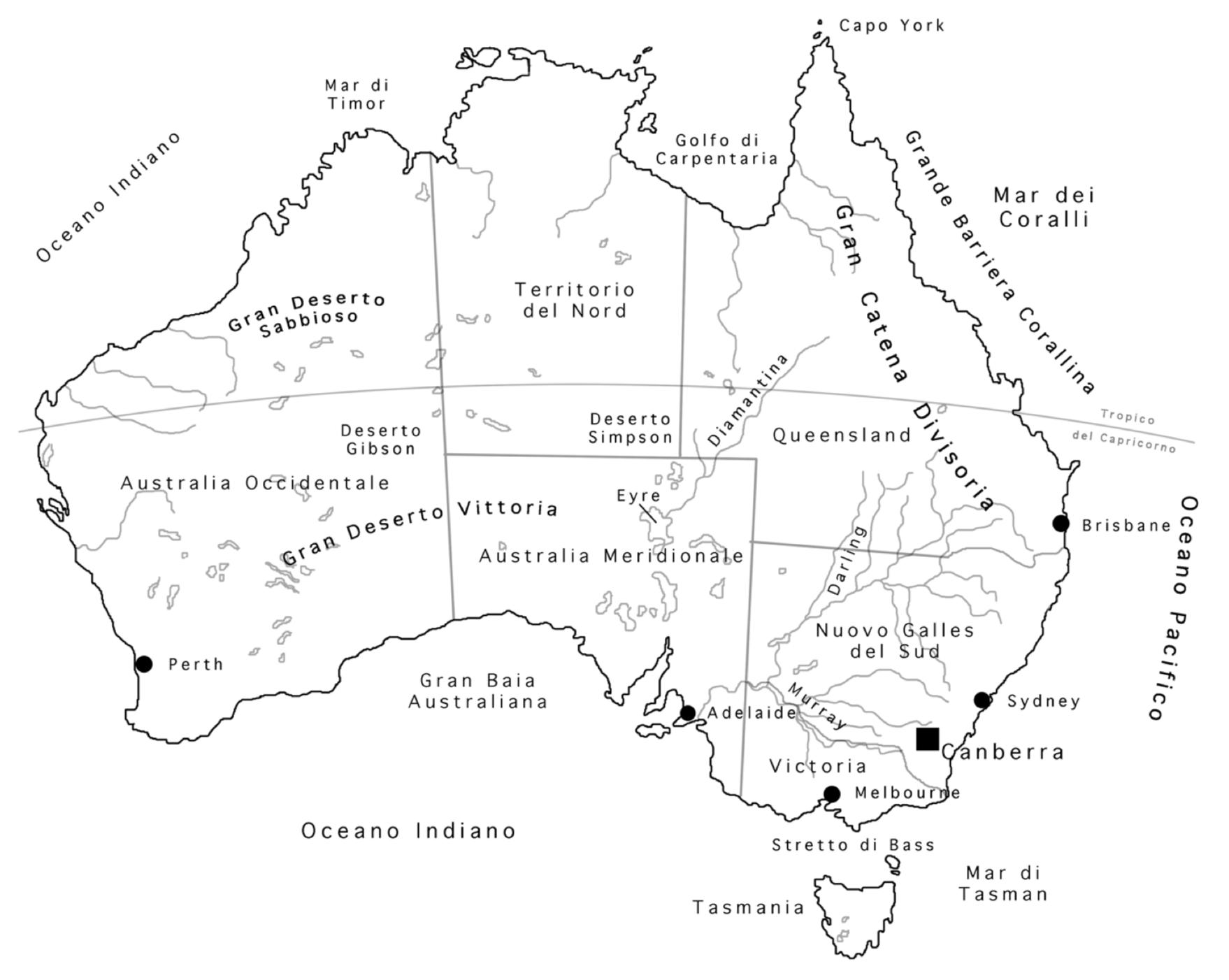 Sudafrica Cartina Muta.Geografia Terza Media Annoscolastico It